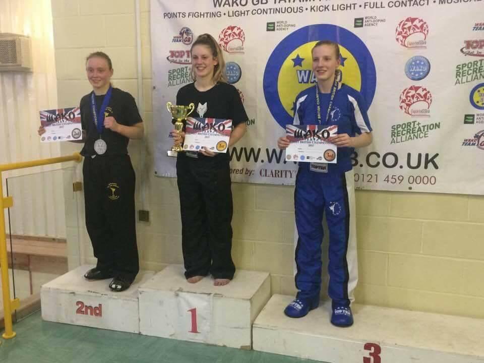 Trin Wako British championships Feb '17